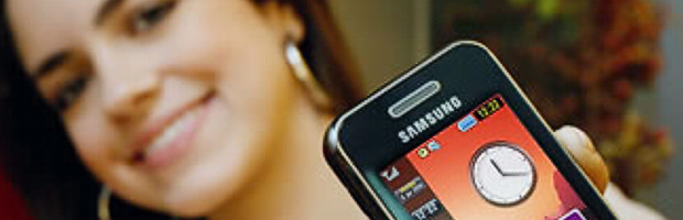 Nuevo Samsung S5600 con TouchWiz